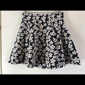 H&M  floral mini skirt
